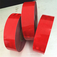 Red Customized Color Pet Reflective Tape for Road Warning